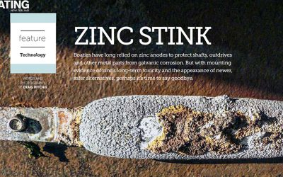 Martyr Anodes featured in the September issue of the Boating New Zealand magazine